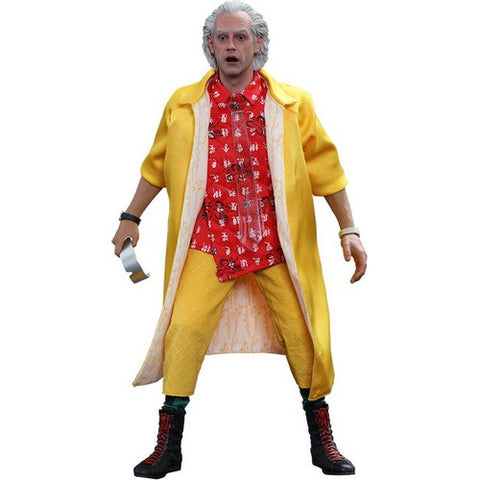 1:6 Back to the Future 2 - Dr Emmett Brown Figure MMS380  Special Edition Hot Toys