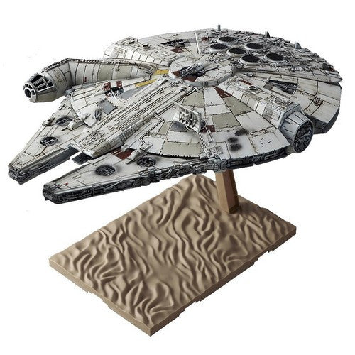 1:144 Star Wars : The Force Awakens - Millennium Falcon Model Kit Bandai