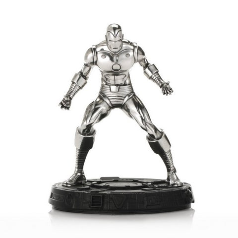 Marvel Comics Classic Invincible Iron Man Diecast Statue Royal Selangor