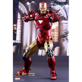 1:6 The Avengers - Iron Man Mark VI Diecast Figure MMS378D17 Hot Toys Standard / Special Edition