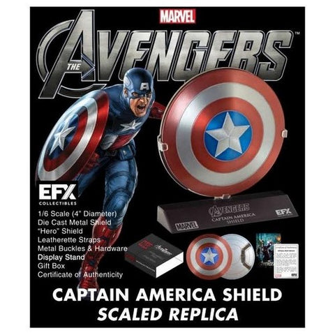 ... 1:6 The Avengers - Captain America Shield Diecast Replica EFX Collectibles