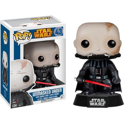 Star Wars : Darth Vader Unmasked #43 Pop! Vinyl Funko
