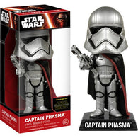 Star Wars : The Force Awakens - Captain Phasma Bobble Head Wacky Wobbler Funko
