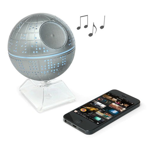 Star Wars - Death Star Light up Wireless Bluetooth Speaker iHome