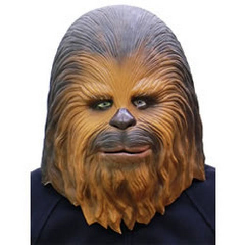 (Star Wars - Chewbacca Full head latex Mask Officially Licensed Made in Japan