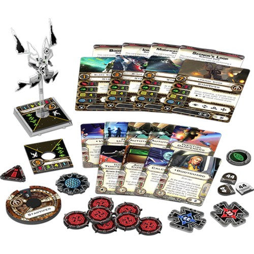 Star Wars : X-Wing Miniatures Game - STAR VIPER Expansion Packk Fantasy Flight