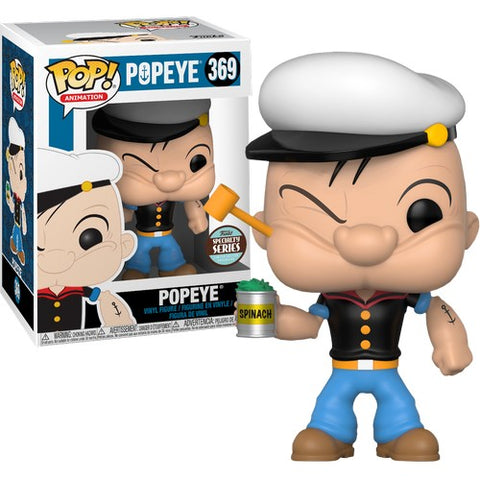 Popeye The Sailor Man #369 Pop Vinyl Funko Speciatly Store Exclusive (LAST CHANCE)