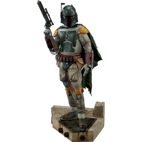 1:4 Star Wars : Return Of The Jedi - Boba Fett Premium Format Statue Sideshow Collectibles