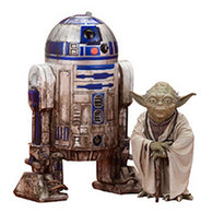 1:10 Star Wars : The Empire Stirkes Back - Yoda & R2-D2 Statue ARTFX+ Kotobukiya