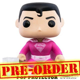 (PREORDER) DC - Superman in Pink Breast Cancer Awareness Pop Vinyl Funko
