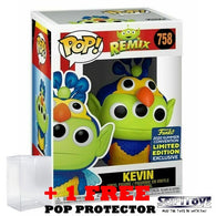 Disney Pixar : Toy Story - Alien Remix in Up Kevin Outfit #758 Pop Vinyl Funko SDCC 2020 Exclusive