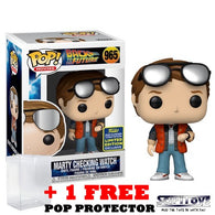 Back to the Future - Marty Checking Watch #965 Pop Vinyl Funko SDCC 2020 Exclusive