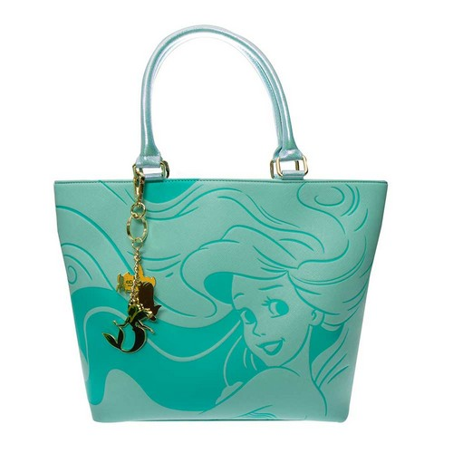 Disney Princess : The Little Mermaid - Ariel Tote Bag with Keychains Loungefly