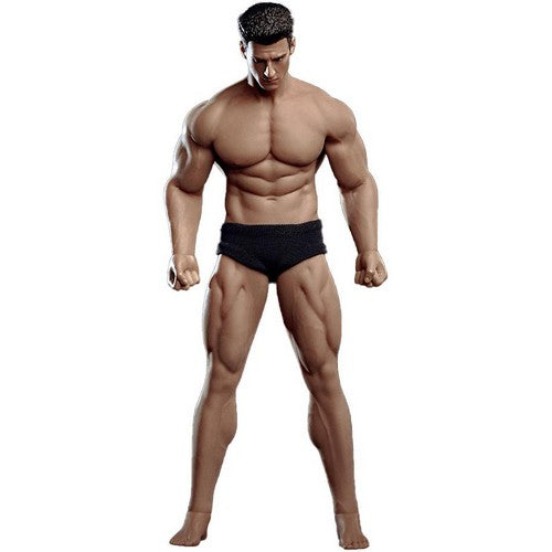 1:12 Super Flexible Steel MALE Seamless Prominent Muscular Body for Custom Figure TB league Phicen (with Headsculpt)