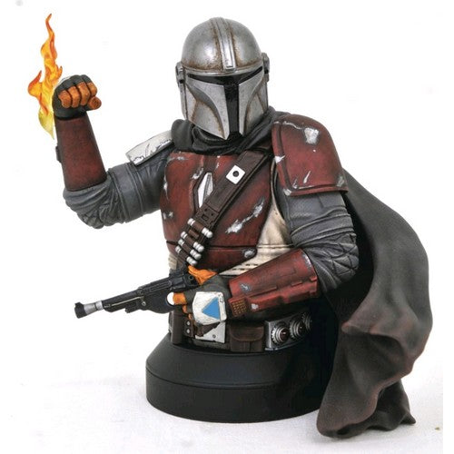 1/6 Star Wars : The Mandalorian - Mandalorian Bust Diamond Select Toys