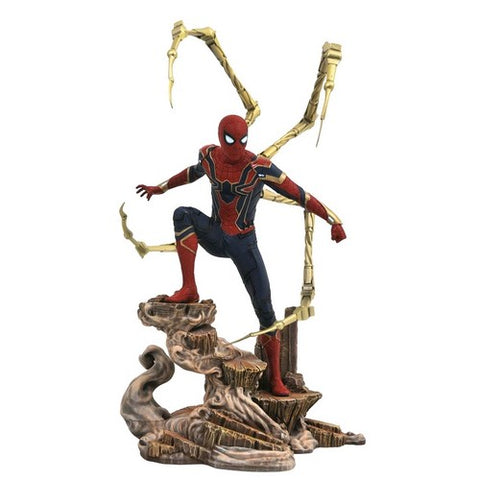 "9"" Avengers 3 : Infinity War - Iron Spider PVC Gallery Statue Diamond Select Toys (LAST CHANCE)"