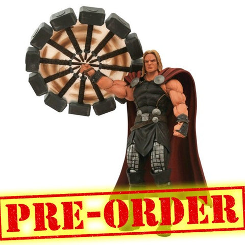 (PREORDER) 1:10 Marvel Comics - Mighty Thor with Mjolnir Marvel Select Figure Diamond Select Toys