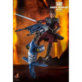 (PREORDER) 1:6 Star Wars : The Clone Wars - Anakin Skywalker & STAP Figure Set TMS020 Hot Toys