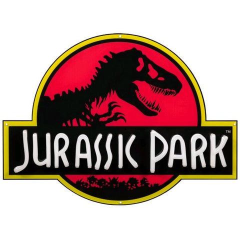 Jurassic Park - Light Up Neon Logo Sign