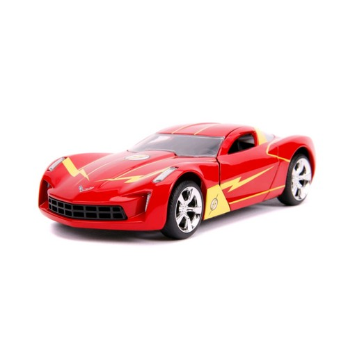 1:32 DC Comics : Flash - 2009 Chevy Corvette Stingray Hollywood Ride Jada Toys