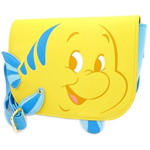 Disney - The Little Mermaid - Flounder Faux Leather Waist Bag Loungefly