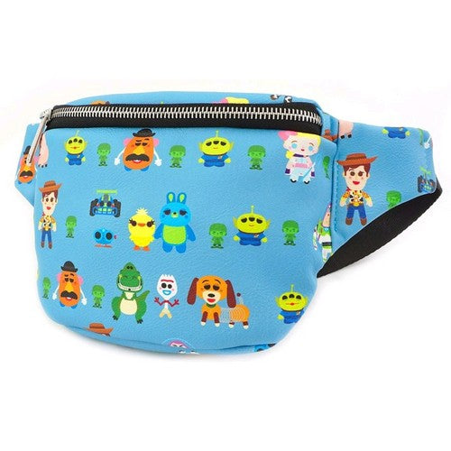 Disney Pixar - Toy Story 4 Chibi Print Faux Leather Bum Bag Fanny Pack Loungefly
