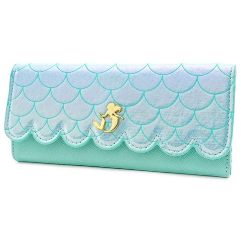 Disney Princess : The Little Mermaid - Ariel Ocean Purse Wallet Loungefly