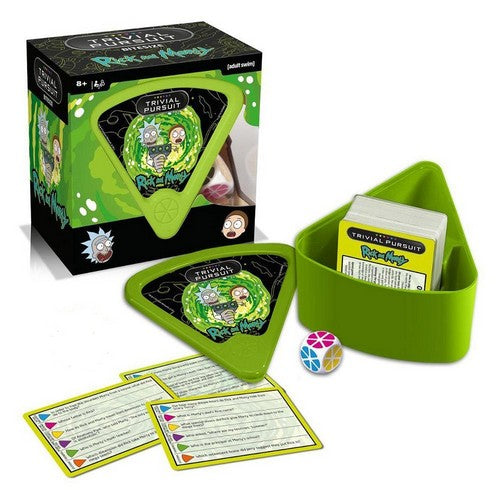Trivial Pursuit - Rick and Morty Bitesize Game Hasbro