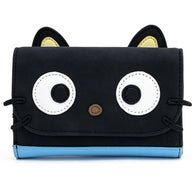 Sanrio : Hello Kitty - Chococat Faux Suede Cosplay Tri-Fold Wallet Loungefly