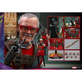 1:6 Marvel Thor 3 : Ragnarok - Stan Lee Figure MMS570 Hot Toys 2020 Toy Fair Exclusive