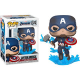 Avengers 4 : Endgame - Captain America with Mjolnir #573 Pop Vinyl Funko