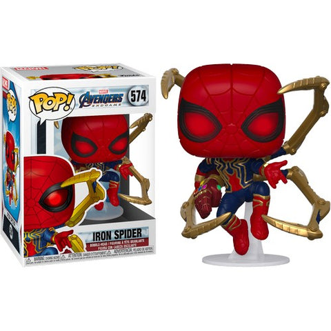 Avengers 4 : Endgame - Iron Spider with Nano Gauntlet #574 Pop Vinyl Funko