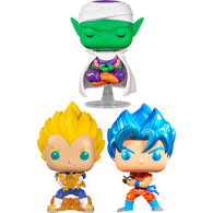 Dragon Ball Z Bundle - Goku Kamehameha, Final Flash Vegeta & Picollo NYCC 2019 Pop Vinyl Funko Exclusive