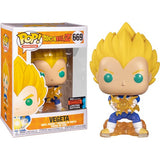 Anime : Dragon Ball Z Bundle - Goku Kamehameha, Final Flash Vegeta & Picollo NYCC 2019 Pop Vinyl Funko Exclusive