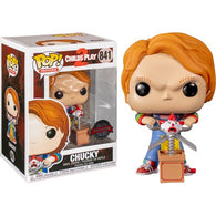 Child's Play 2 - Chucky with Jack in the Box & Scissors #841 Pop vinyl Funko Exclusive