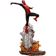 1:10 Spider-Man : Far From Home - Spider Man Battle Diorama Series Statue Iron Studios