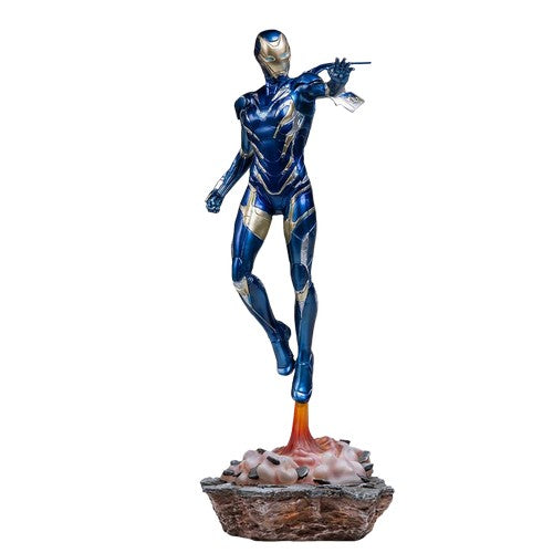 1:10 Avengers 4 : Endgame - Pepper Potts in Rescue Armour Battle Diorama Series Statue Iron Studios