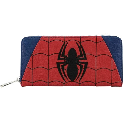 Marvel Spiderman Zip-Around Wallet Loungefly