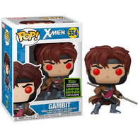 X-men - Gambit #554 Pop Vinyl Funko ECCC 2020 Spring Convention Exclusive