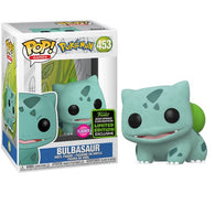 Pokemon - Bulbasaur Flocked #453 Pop Vinyl Funko ECCC 2020 Spring Convention Exclusive