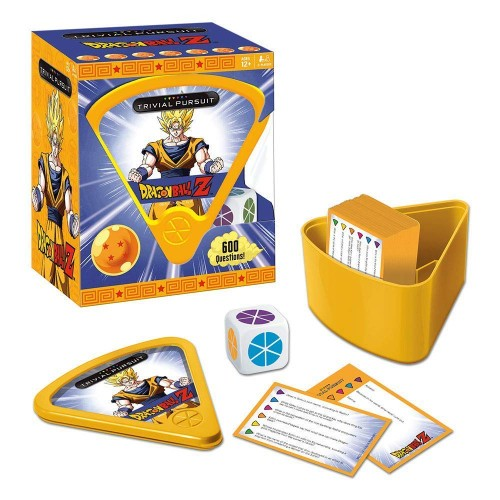 Trivial Pursuit : Anime Dragon Ball Z Bitesize Game Hasbro
