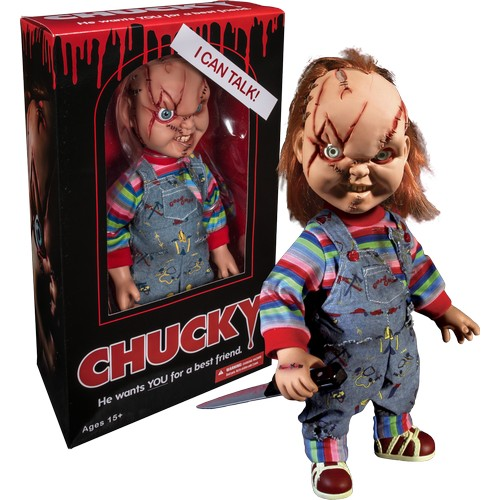 "15"" Child's Play - Chucky Mega Scale Talking Figure Mezco Toyz"