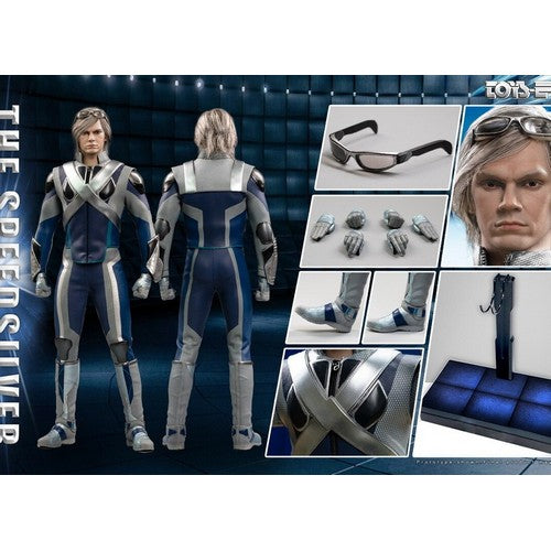 1:6 X-Men - The Ultimate Combat Suit Speedsilver A.K.A Quicksilver Deluxe Custom Figure Toys Era