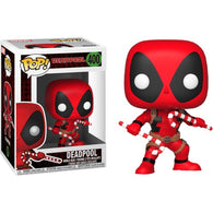 Deadpool with Candy Canes Christmas Holiday #400 Pop Vinyl Funko