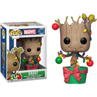 Guardians of the Galaxy - Groot with Lights & Ornaments Christmas Holiday #399 Pop Vinyl Funko