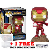 Avengers 3 : Infinity War - Iron Man Light Up #380 Pop Vinyl Funko Exclusive