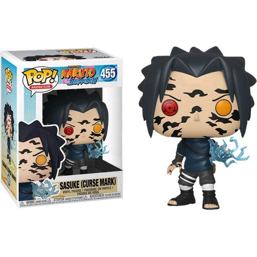 Naruto Shippuden - Sasuke Curse Mark #455 Pop Vinyl Funko Exclusive