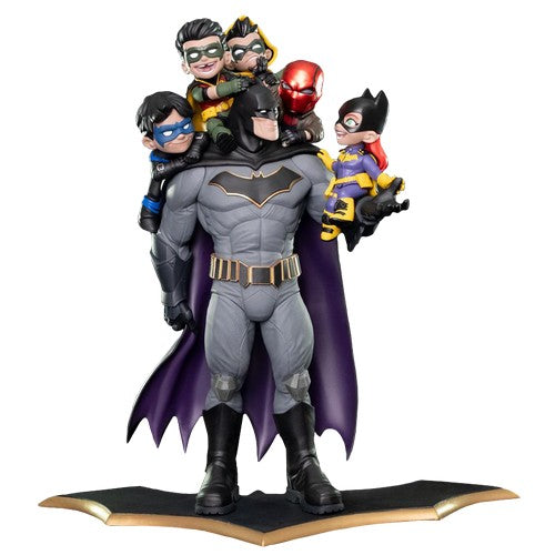 "15.5"" Batman - Family Q-Master Diorama Statue Quantum Mechanix (LAST CHANCE)"
