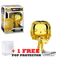Marvel Studios The First 10 Years - Gamora Gold Chrome #382 Pop Vinyl Funko Exclusive