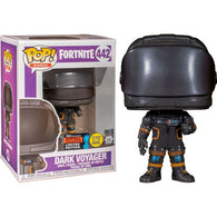 Fortnite - Dark Voyager Metallic Glow in the Dark #442 Pop Vinyl Funko NYCC 2019 Exclusive